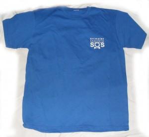 Camiseta Azul Animales SOS Sagunto