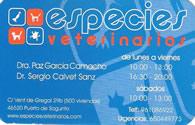 Especies veterinarios