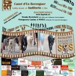 Cartel I Canrrera Solidaria SOS Animales Sagunto